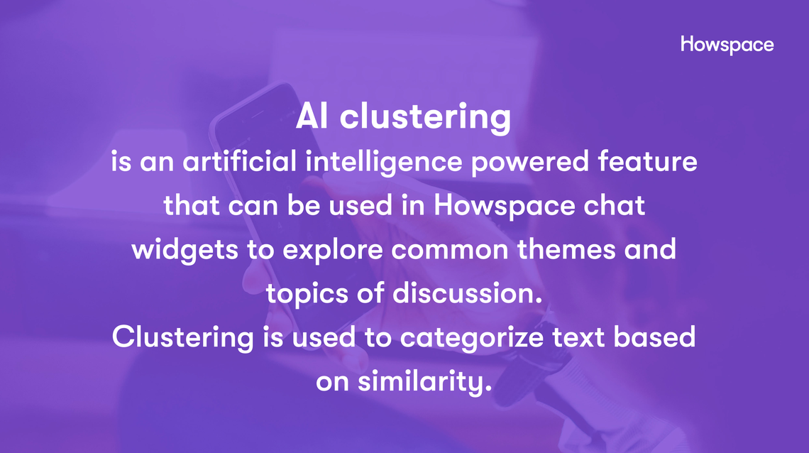 AI-clustering