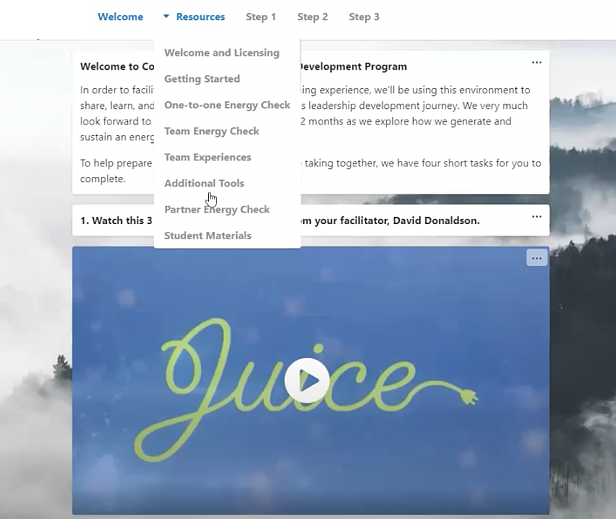 Juice resources in Howspace